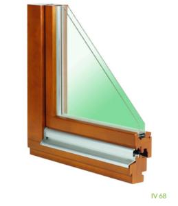 Holzfenster IV 68 (2-fach Verglasung)