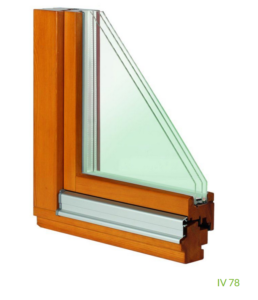 Holzfenster IV 78 (3-fach Verglasung)