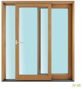 Parallel-Schiebe-Tür IV 68 (2-fach Verglasung)