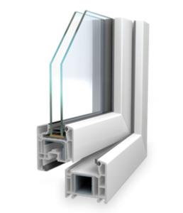 Kunststofffenster SL 70 AD (2-fach Verglasung)